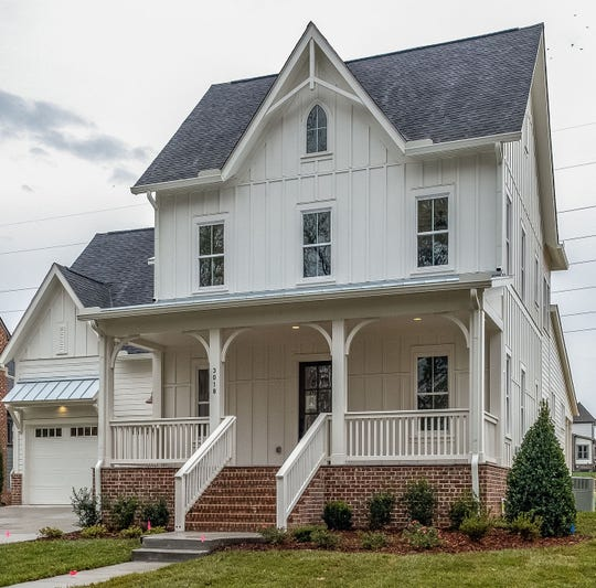 This farmhouse is available in Nature's Landing near downtown Franklin.  Carbine & Associates is building throughout the neighborhood with farmhouses one of their most popular options.