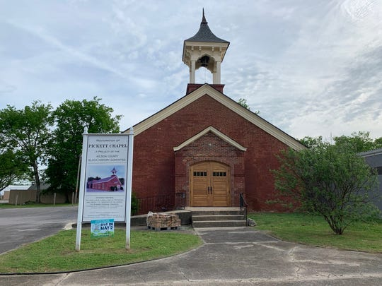 Pickett Chapel in Lebanon is undergoing a significant renovation.