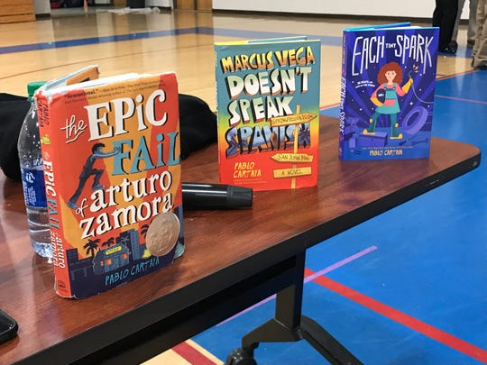 Pablo Cartaya's books are inspired by his experiences growing up with a multi-cultural background and encourage others to embrace their heritage as a strength.