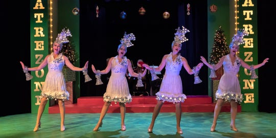 "Plan on snow, even in Florida, for TheatreZone's ""Home for the Holidays."""