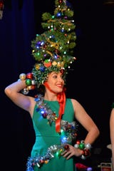 """Heads up! for the unusual costuming planned for TheatreZone's  """"Home for the Holidays."""""""