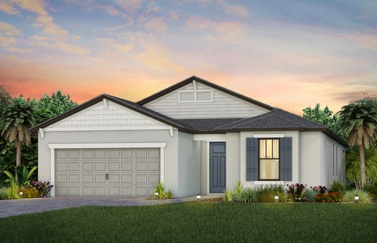 The Mystique floor plan features 1,889-3,037 square feet, versatile indoor and outdoor entertaining space, and a spacious kitchen.