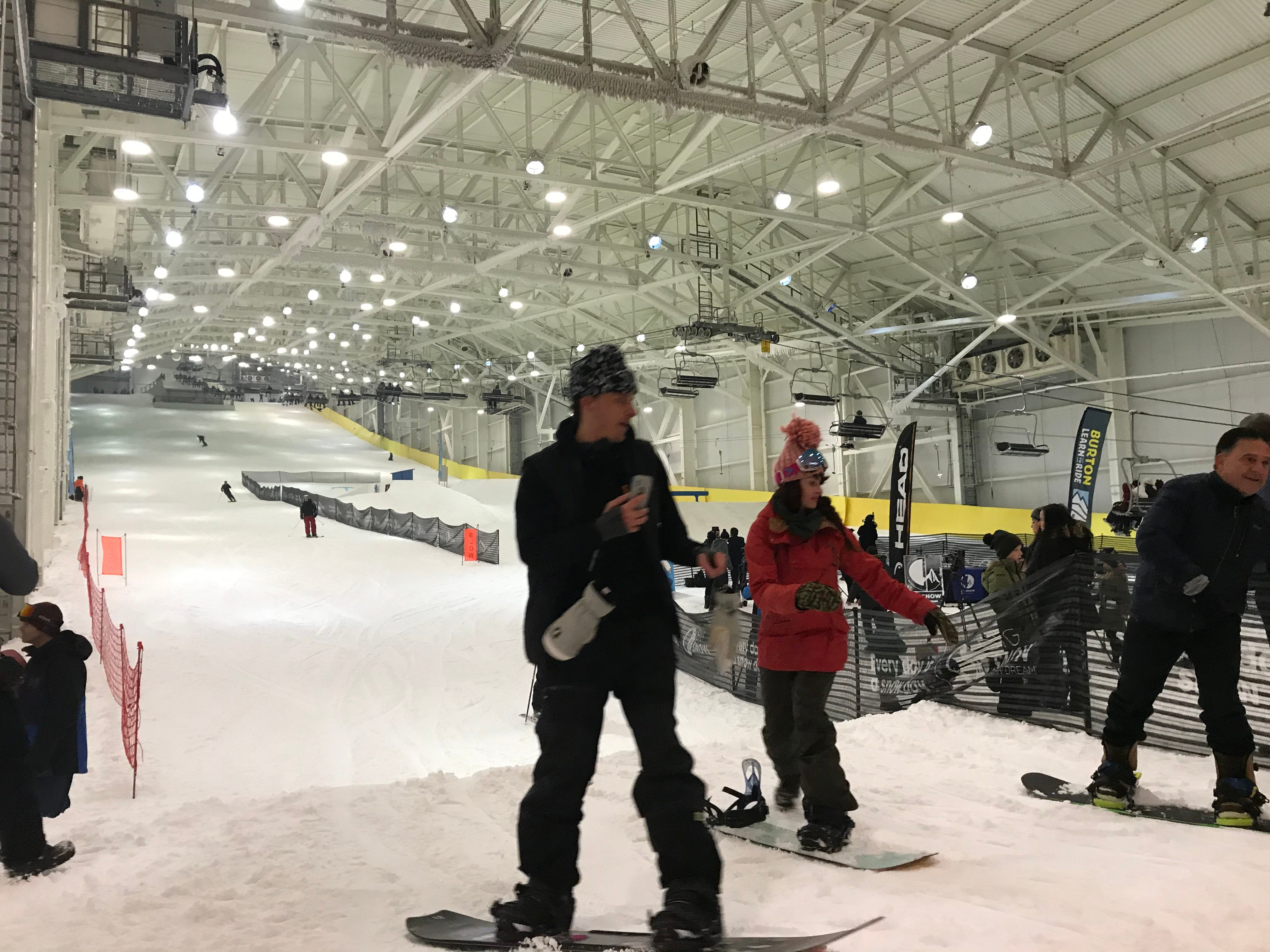 'The snow is perfect:' Indoor ski slope opens at New Jersey's American Dream mall