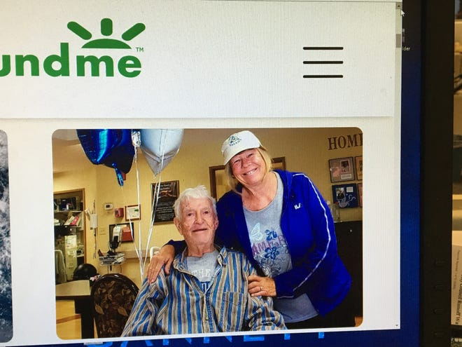 A GoFundMe page photographed Wednesday, Dec. 4, 2019, was created by the family of Ronald Clarke to help ease the financial burden. The fundraiser has since been taken down but the image of Clarke and daughter Julie Clarke remained online on Wednesday, Dec.14, 2019.