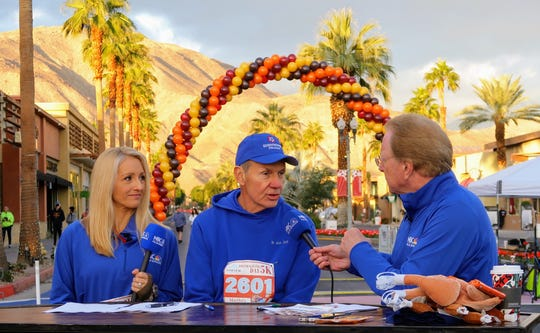 KMIR's Thalia Hayden and Joe Smith spoke to Dr. Joe Scherger of Eisenhower Health on a live broadcast from the event.
