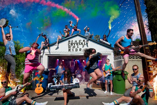 Black Crystal Wolf Kids will perform at Pappy & Harriet's for the third consecutive New Year's Eve.