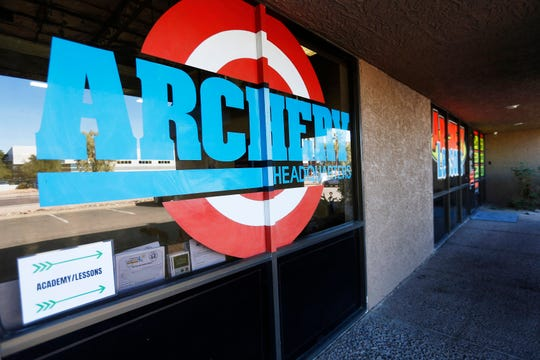 Exterior of Archery Headquarters in Chandler on Nov. 26, 2019. The specialty store has been open for 30 years.