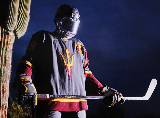 Denver evidently isn't a fan of the ASU hockey team's multiple uniforms.