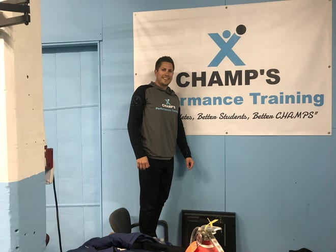 Former Annville-Cleona and Lebanon Valley College pitcher is set to open his new baseball/softball training facility, Champ's Performance Training, at 1349 Cumberland Street this weekend.