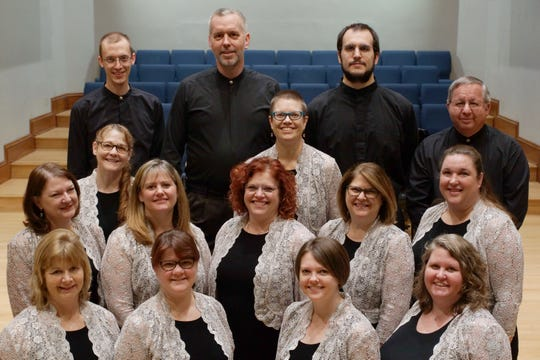 The Hershey Handbell Ensemble will perform Friday at Mount Zion Lutheran Church.