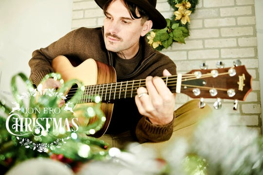 """Jon Fro, a singer/songwriter from Salem, is releasing a Christmas song, """"Christmas Is Here."""" He's been making music in the area for 20 years."""