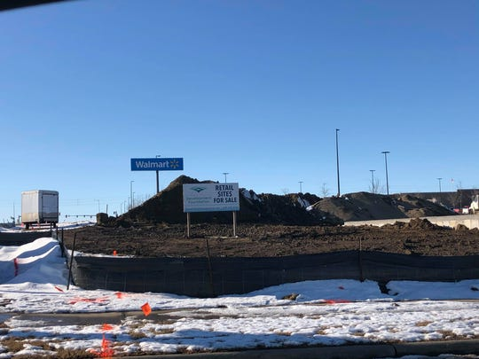A new strip mall is coming to the area near Walmart on 60th Street North.