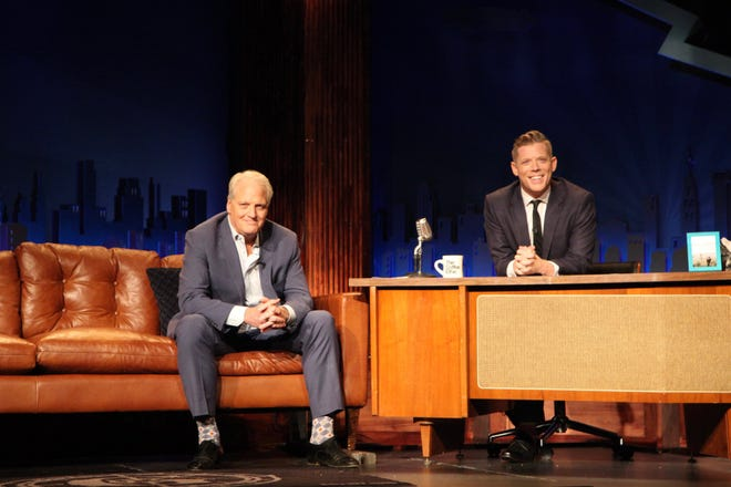 "During a taping of The Mystery Hour, RIP Medical Debt co-founder Craig Antico (left) announced the launch of a campaign to abolish $2.7 million in medical debt for needy people throughout the Ozarks. Mystery Hour host Jeff Houghton said he is ""pumped"" to help promote and raise money for the campaign."