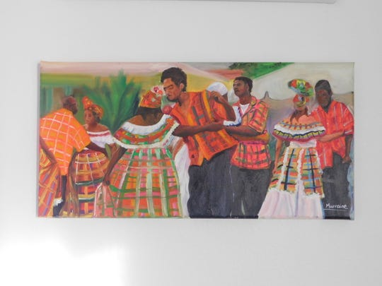 Quadrille Dancers by Janelle Murraine.