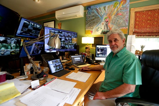 Scott Carswell, owner of The Moon, poses for a photo in his office on Thursday, Dec. 5, 2019.