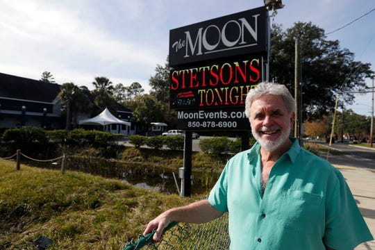 Scott Carswell, owner of The Moon, poses for a photo outside his establishment on Thursday, Dec. 5, 2019.
