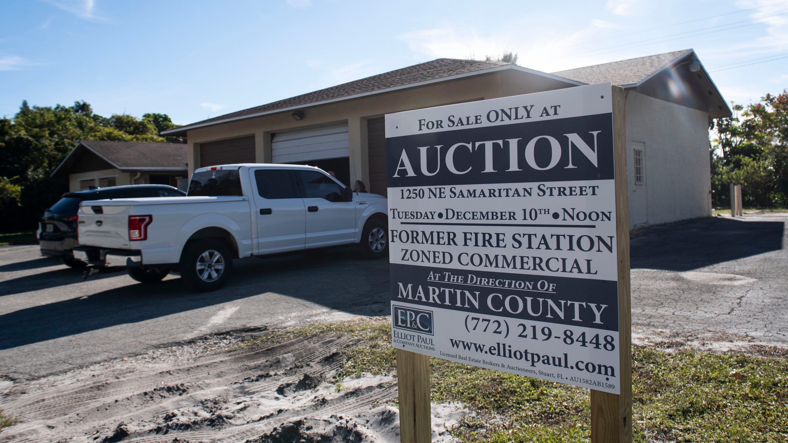 Former Martin County Fire Station Up For Auction Next Week