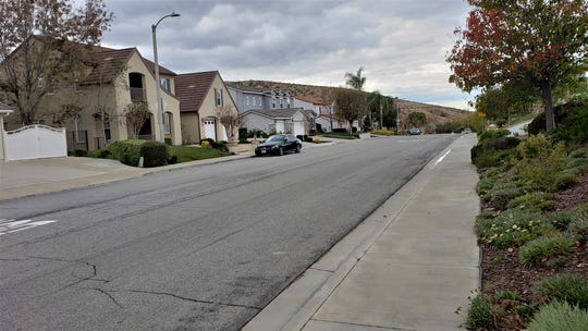 A mountain lion killed a dog and hurt another in this area, the 5300 and 5400 blocks of Evening Sky Drive in Simi Valley.