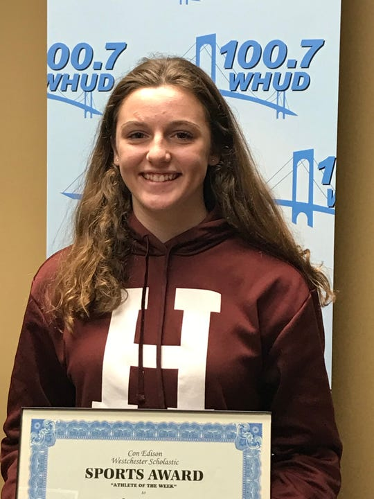 Rye diver Katie Laverty is the latest Con Edison Athlete of the Week.
