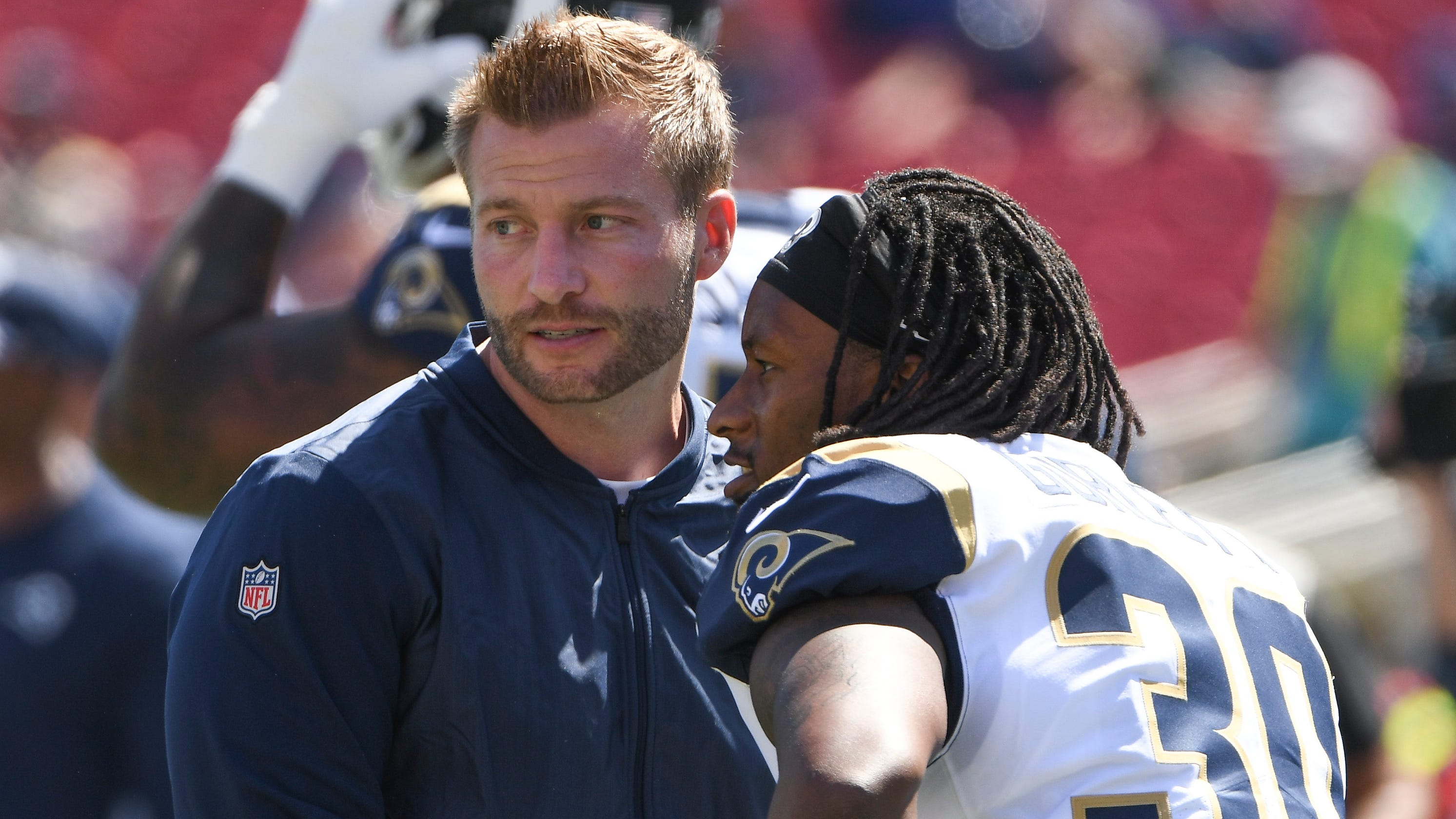 Rams RB Todd Gurley's Lack Of Production Was On Sean McVay