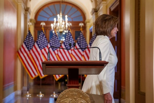 House Speaker Nancy Pelosi on Dec. 5, 2019.