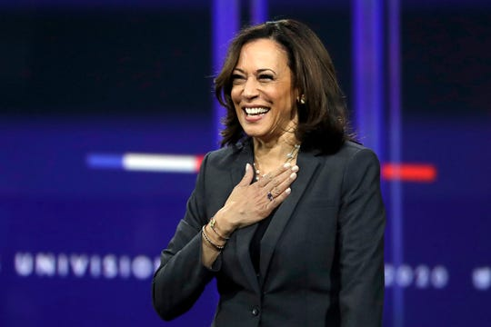 On Aug. 11, Biden tapped the California senator as his vice president running mate, making Kamala Harris the first Black woman on a major party's presidential ticket.