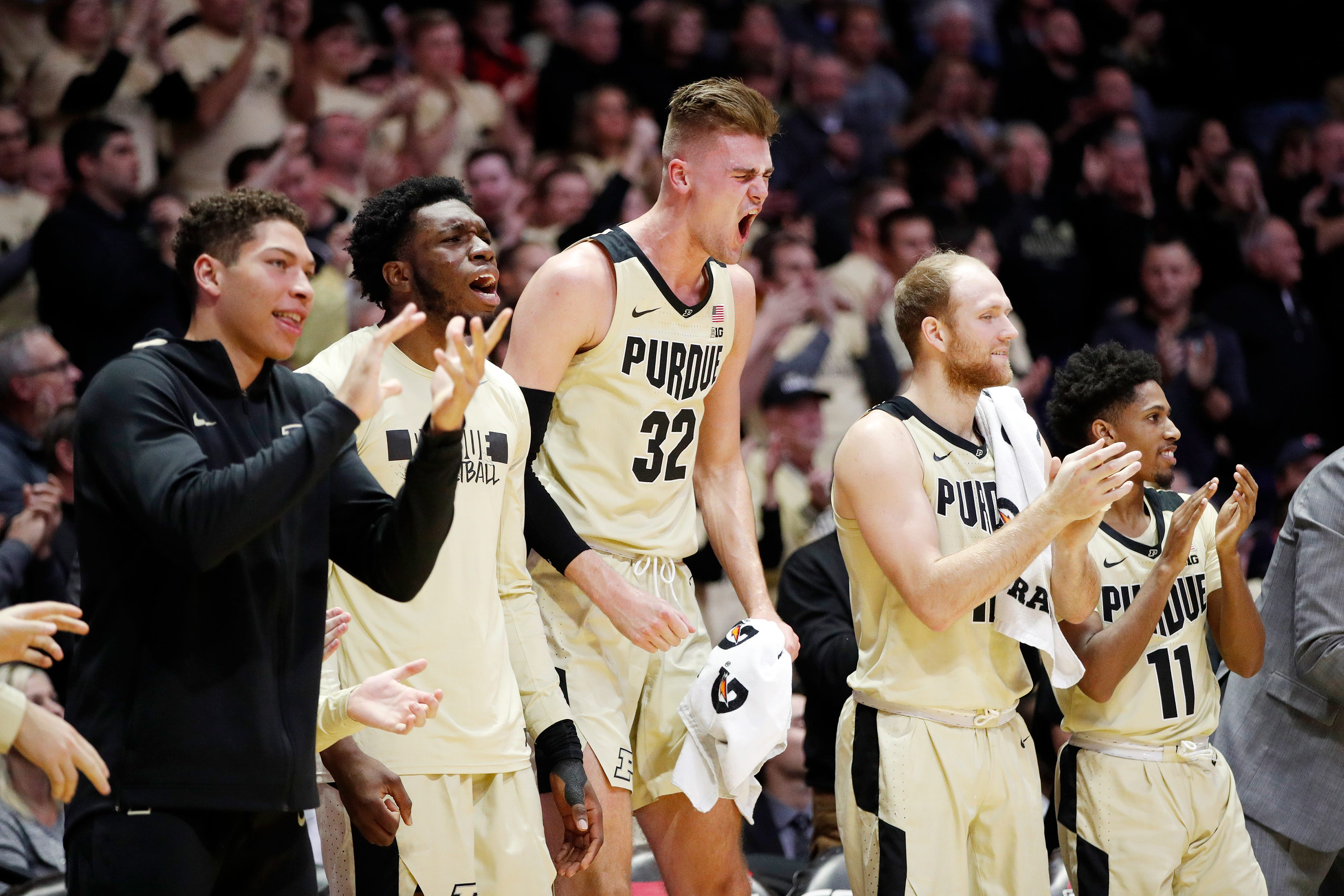 Purdue upsets defending national champion and No. 2 Virginia in blowout