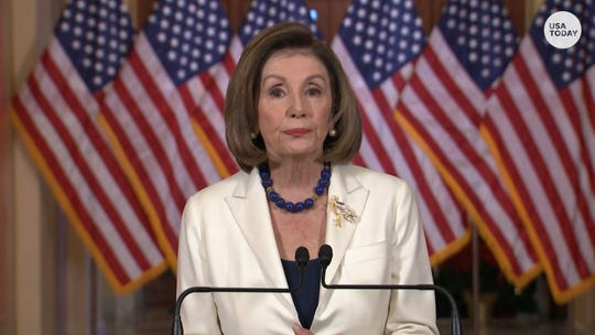 'Our democracy is what is at stake.' Pelosi says House will draft impeachment articles against Trump