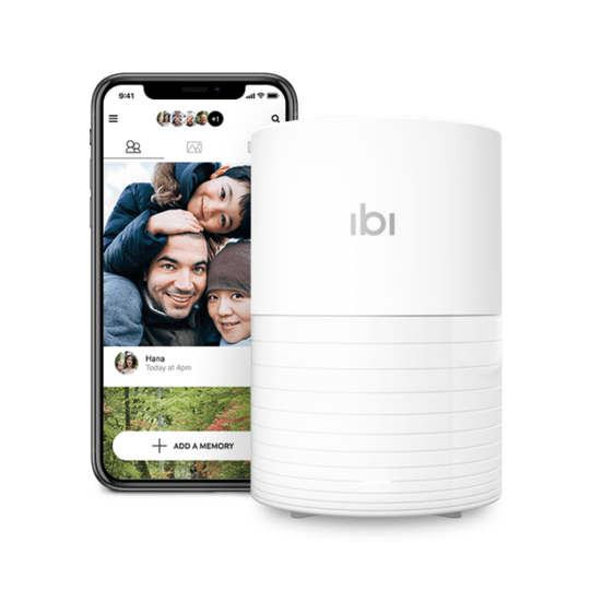 SanDisk ibi is a wireless hard drive that aggregates all your photos and videos and stores them in one place.