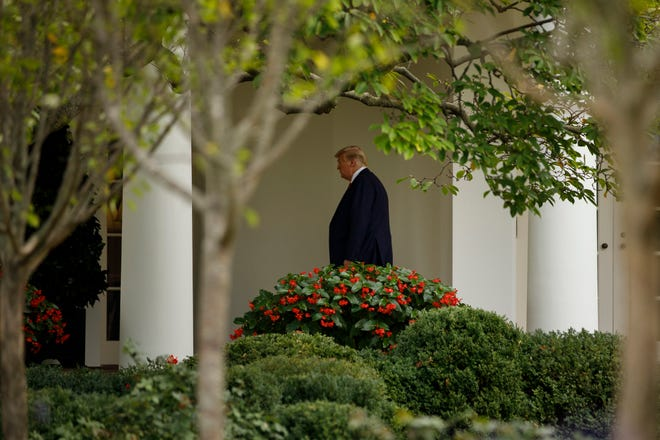 A team of lawyers for President Trump for the second time Thursday asked the Supreme Court to shield the president's tax and financial records from prying eyes.