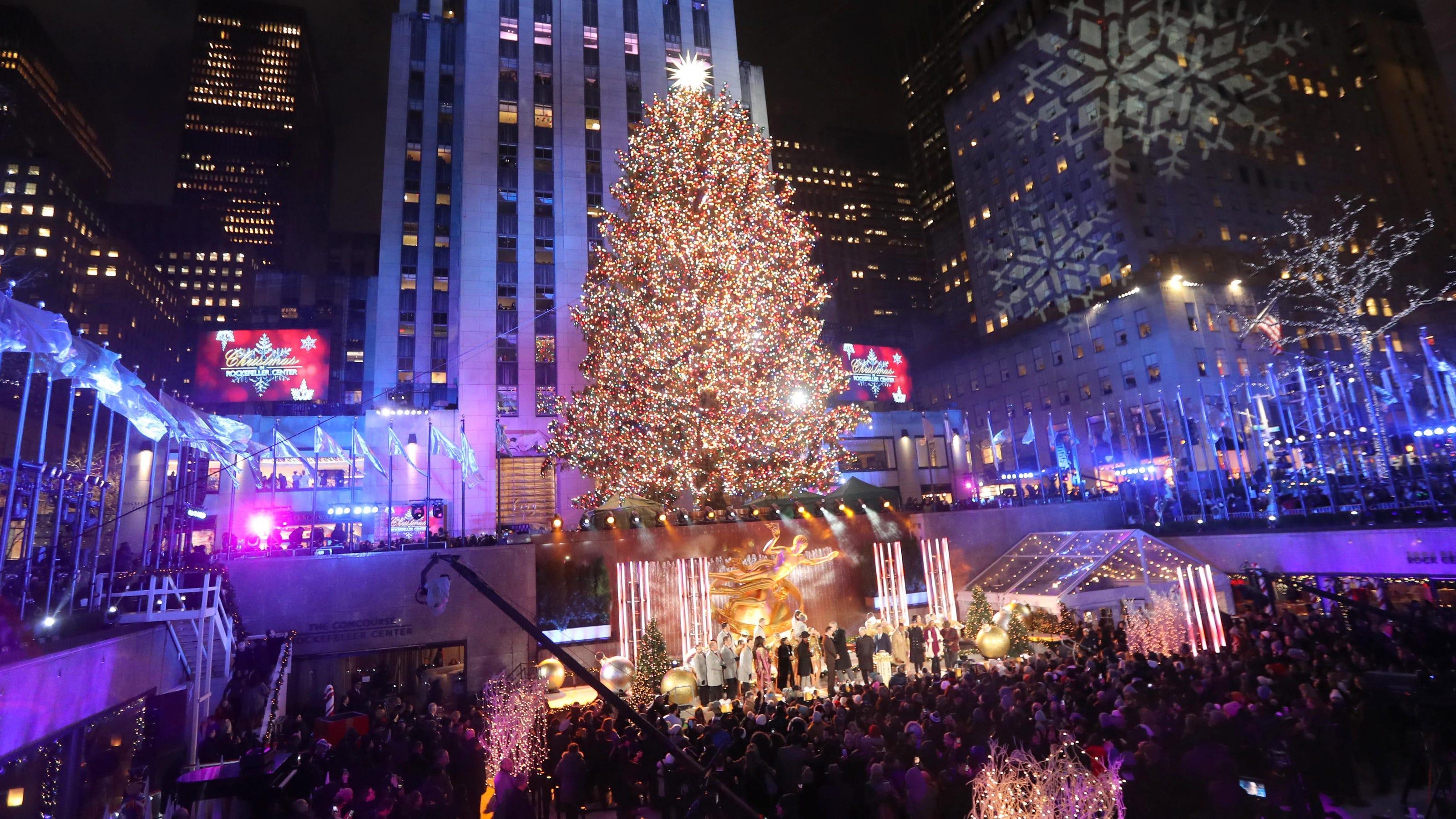 Rockefeller Center tree lighting: What