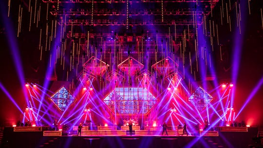 """Trans-Siberian Orchestra is bringing a new production of """"Christmas Eve and Other Stories"""" to the Wells Fargo Center in Philadelphia on Sunday, Dec. 15 and the Prudential Center in Newark on Saturday, Dec. 21."""