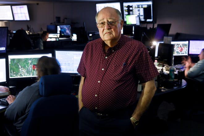 After 48 years of service, Jerry VeHaun is retiring from Buncombe County Emergency Services.