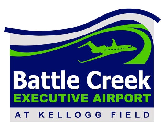 The logo for the newly-named Battle Creek Executive Airport at Kellogg Field.