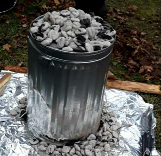 A homemade trash can turkey roaster, which you can read about in today's column.