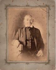 The Rev. Daniel Robinson, 1771-1864, from an original 1847 daguerreotype.