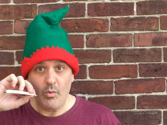 """Jason Lorber presents """"The SantaLand Diaries"""" this month in Randolph, Burlington and Middlebury."""