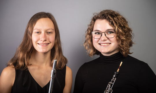 Kathryn Meyer of Stowe and Laila Reimanis of South Strafford will be the featured soloists for the Green Mountain Youth Symphony fall concert in Barre.