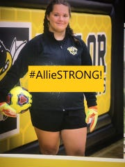 Taylor High School will be taking donations Friday, Dec. 6, for student-athlete Allie Stevens, who was diagnosed with acute myeloid leukemia.