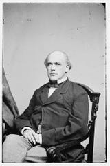 Salmon P. Chase, a former attorney and politician from Cincinnati, was nominated by Abraham Lincoln as chief justice on the Supreme Court.