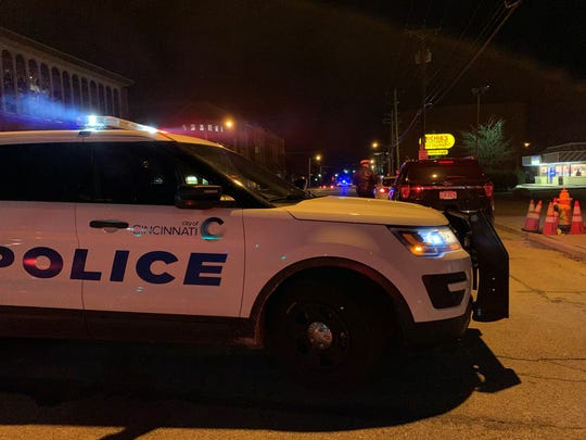 An unmarked officer was shot at Thursday night in the West End, according to police.