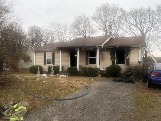 House fire on Sandpiper Drive, Dec. 6, 2019