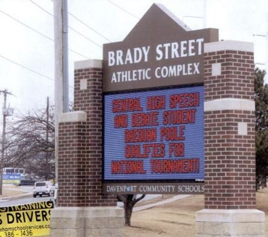 The Brady Street Athletic Complex in Davenport.