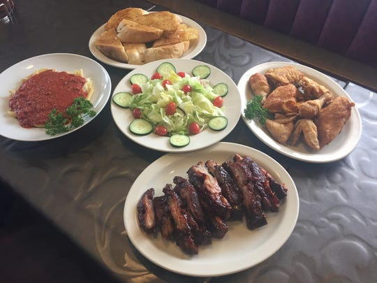 Ribs, broasted chicken and mostaccoli were signatures dishes at Alexander the Great, a barbecue place in Westland that closed Wednesday after 42 years in business.