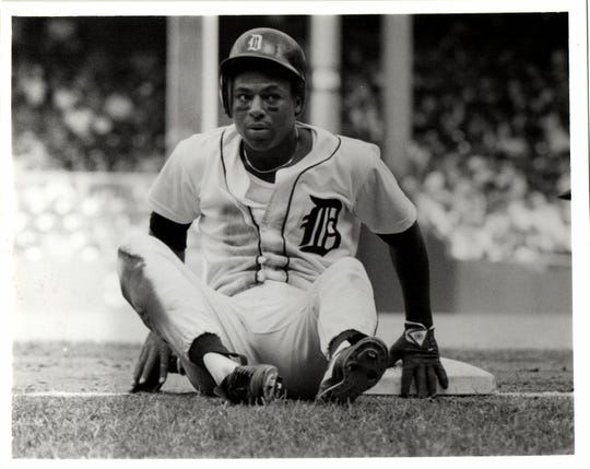 Lou Whitaker of the Detroit Tigers during a game at Tiger Stadium in 1987