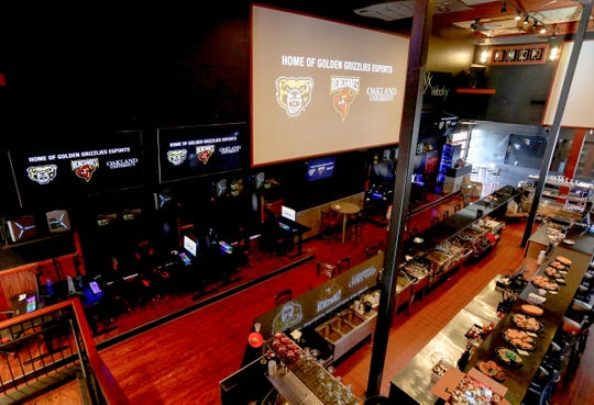A look inside Game Time in Auburn Hills on December 6, 2019 where the new esports team at Oakland University will be practicing and competing in the new varsity sport.Oakland University announced the addition of the 12 person varsity esports team. The addition of the sport makes the university the first Division 1 school in Michigan to have such a team.