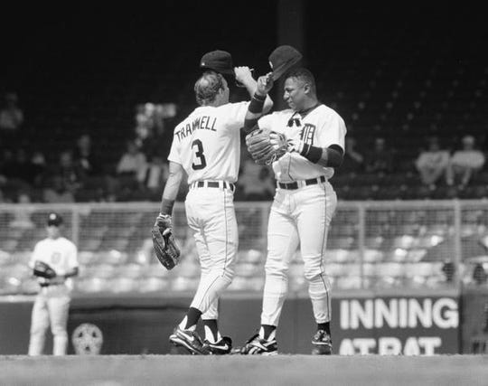 Lou Whitaker, right, hopes to join his teammate Alan Trammell in baseball's Hall of Fame.