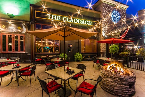 The Claddagh in Livonia is closed.