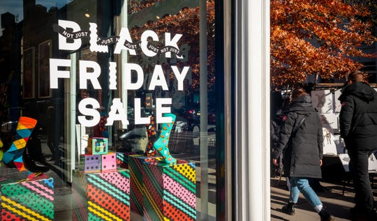 Black Friday fell flat in many stores across the nation.