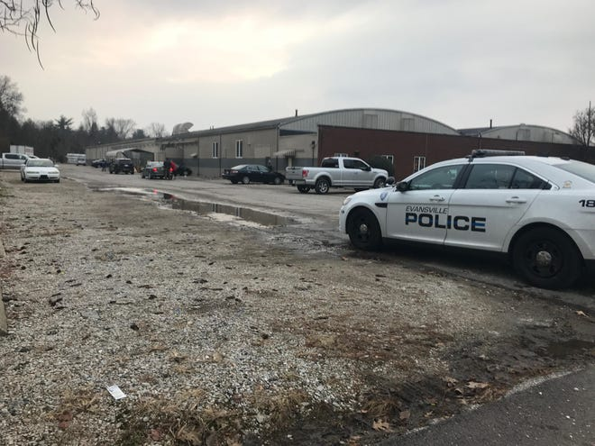 Shooting at American Window and Glass, officers are on the scene